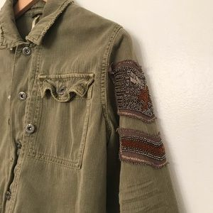 Free People Jackets & Coats - ✨sale✨Free people military crop jacket